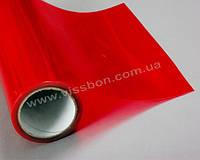 Красная тонировочная пленка для оптики авто Vissbon