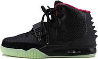 Мужские кроссовки Nike Air Yeezy 2 Black, найк