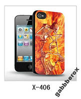 Чехол 3D с объемным изображением для iPhone 4 4s