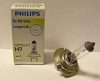 Автолампа PHILIPS 12972LLC1 H7 55W 12V PX26d LongerLife