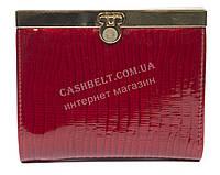 Стильный лаковый женский кожаный кошелек высокого качества art. V297-63 красный, фото 1