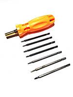 Отвертка со сменными насадками Xiteli Tools 7-в-1