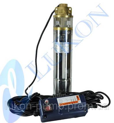 Насос скважинный вихревой, погружной насос , глубинный  4SKM 100 , фото 2
