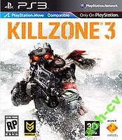 Диск для PS3  игра KILLZONE 3