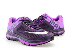 Женские кроссовки Nike Air Max 2013 фиолетовые