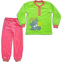 Пижама для девочки теплая Мишка