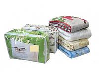 Одеяло двухспальное овчина  - ткань хлопок (фабрика)