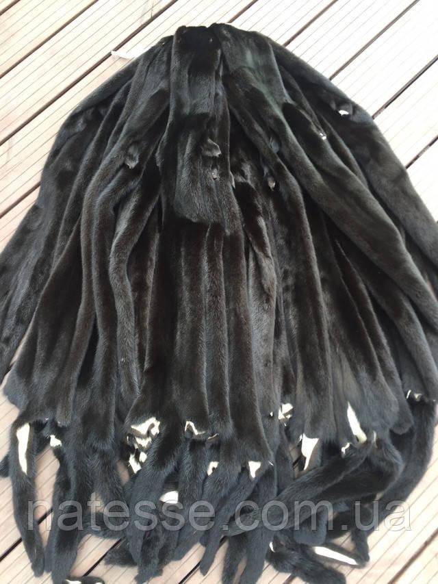 Купить шкуры мех норки черный велюр вельвет дания датский black velvet