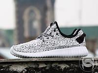Кроссовки мужские для бега Adidas Yeezy Boost 350 (арт 5) all white (реплика), фото 1