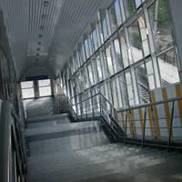 Стеклянные ступени лестниц