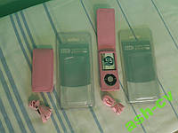 Кожаный чехол для iPod nano. Pink