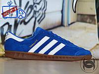 Кроссовки мужские Adidas Hamburg blue (Адидас Гамбург) (реплика)