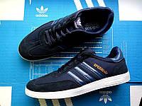 Кроссовки мужские низкие Adidas Spezial blue (реплика)