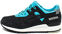 Мужские кроссовки Solebox x Asics Gel Lyte III 'Blue Carpenter Bee', асикс