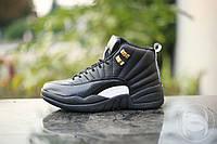 Кроссовки мужские баскетбольные Nike Air Jordan 12 Retro Jappaness Edition blk (реплика)
