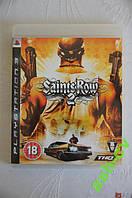 Диск для PS3  игра Saints Row 2