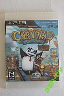 Диск для PS3 игра CARNIVAL ISLAND
