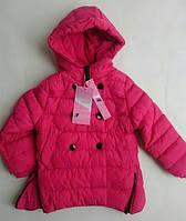 Куртка переходник на девочку NATURE отделка пуговицами
