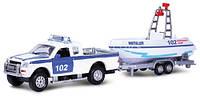 Игровой набор ВОДНАЯ ПОЛИЦИЯ спецслужба, патрульный катер - свет, звук (SL767WB-SB-PP)
