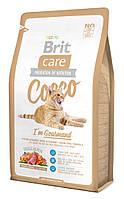 Brit Care Cat 0,4 kg Cocco для привередливых кошек
