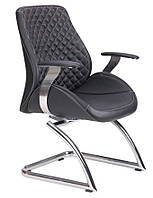 Кресло Spirit CF (SR512V) кожзам PU чёрный