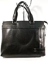 Сумка мужская для документов, портфель, папка Fashion, 40*29*9 см