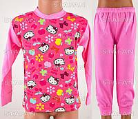 Детская пижама на девочку интерлок AYL D04 5-R. Размер на 5 лет.