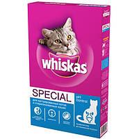 Сухой корм WHISKAS Вискас для кастрированных и стерилизованных кошек (курица), 350 г