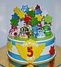 Торт Поли Робокар, фото 4