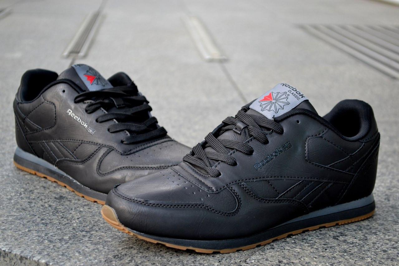 5e471f0b Мужские кроссовки Reebok Classic, черные, классические: продажа ...