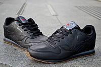 Мужские кроссовки Reebok Classic, черные, классические