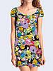 Платье Adventure Time коллаж