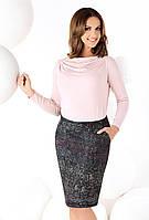 Женская трикотажная юбка классического кроя. Модель Jola Top-Bis. 44
