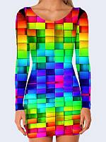 Платье Цветные кубики