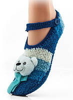 Теплые домашние тапки WOMAN FLUFFY SLIPPERS ABS