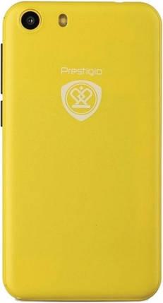 Мобильный телефон Prestigio MultiPhone Wize L3  3403 Duo Yellow, фото 2