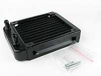 Радиатор для водяного охлаждения 120х120 сопло 8мм, фото 1