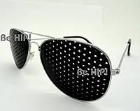 Очки тренажеры (очки  Федорова) для улучшения зрения. без чехла, металл