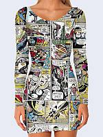 Платье Герои комиксов