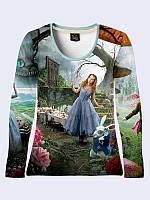 Лонгслив Алиса в Стране чудес