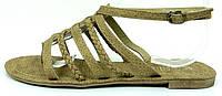 Босоножки легкие КОЛОСОК khaki, р. 39 (25см), фото 1