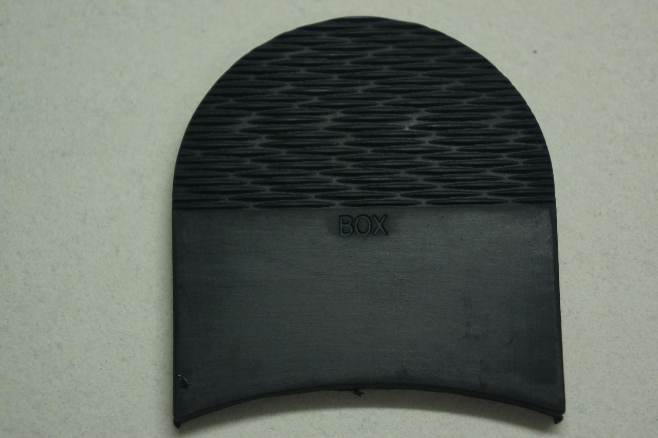 Формованная резиновая набойка для обуви BOX волна мал.черная (Украина)