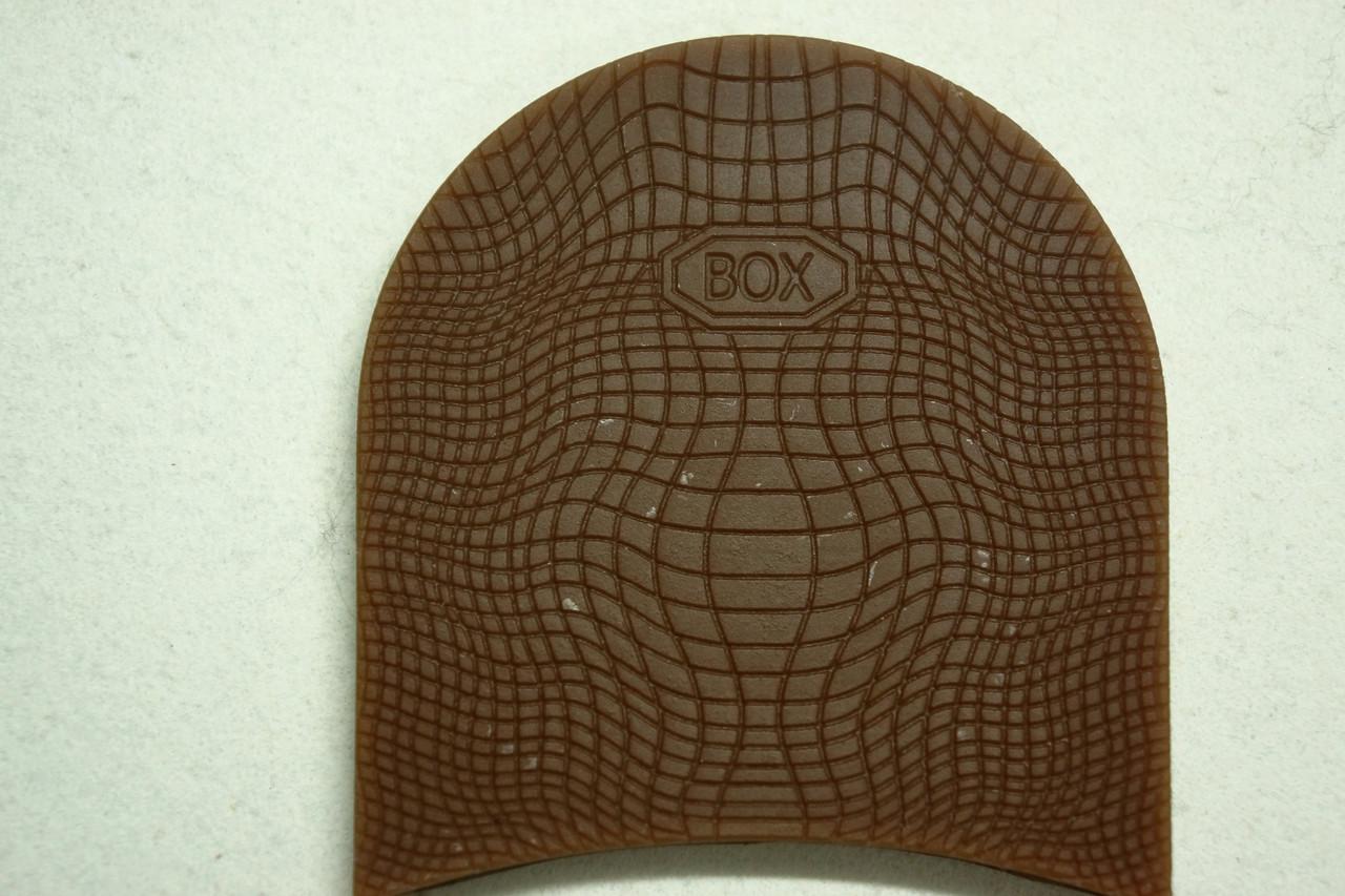 Формованная резиновая набойка для обуви BOX мал.(Украина)корич.