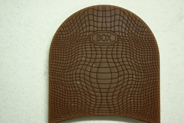 Формованная резиновая набойка для обуви BOX мал.(Украина)корич., фото 2