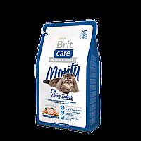 Brit Care Cat 2 kg Monty для кошек живущих в помещении