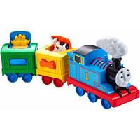 Паровозик Томас с прицепом Мой первый Томас Fisher-Price  Friends Thomas Activity Train CDM25