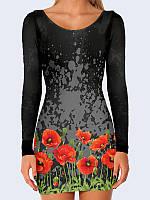 Платье Poppies
