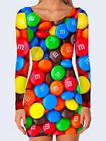 Платье Шоколадные конфеты M&M's