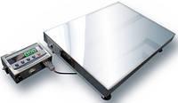 Весы до 200 кг нержавейка ТВ1-200-50-(400х400)-N-12еh