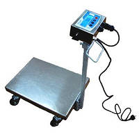 Нержавеющие весы-тележка ТВ1-200-50-R(600х700)-N-12 еha